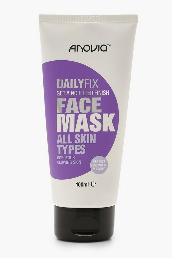 Womens White Daily Fix All Skin Types Face Mask