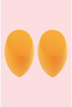 Womens Orange Real Techniques 2Pk Complexion Sponges