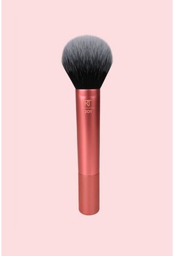 Womens Orange Real Techniques Powder Brush