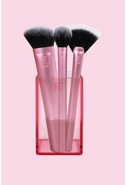 Dam Pink Real Techniques Sculpting Brush Set