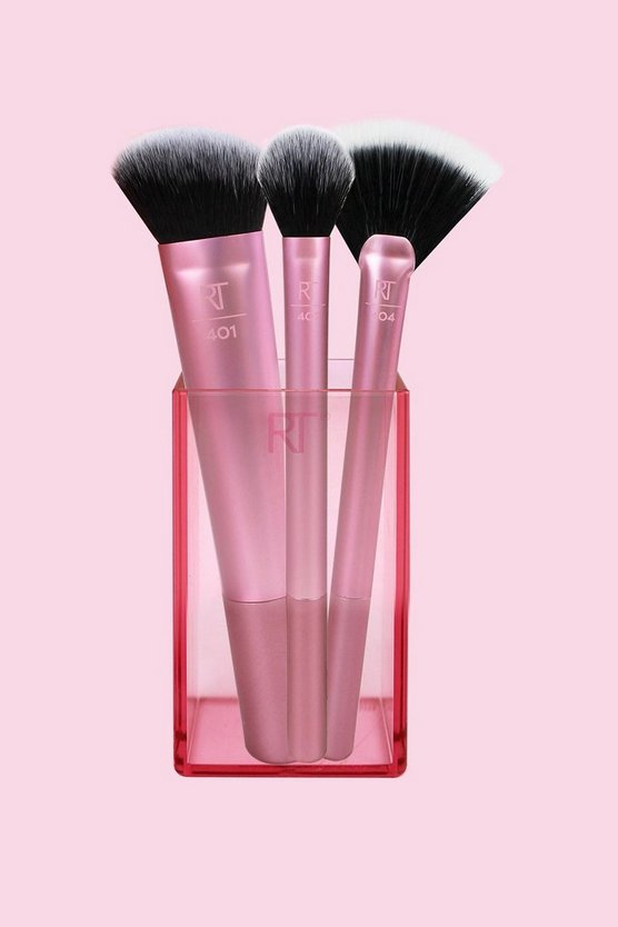 Womens Pink Real Techniques Sculpting Brush Set