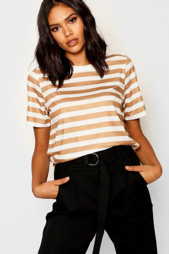 Tonal Stripe T-Shirt