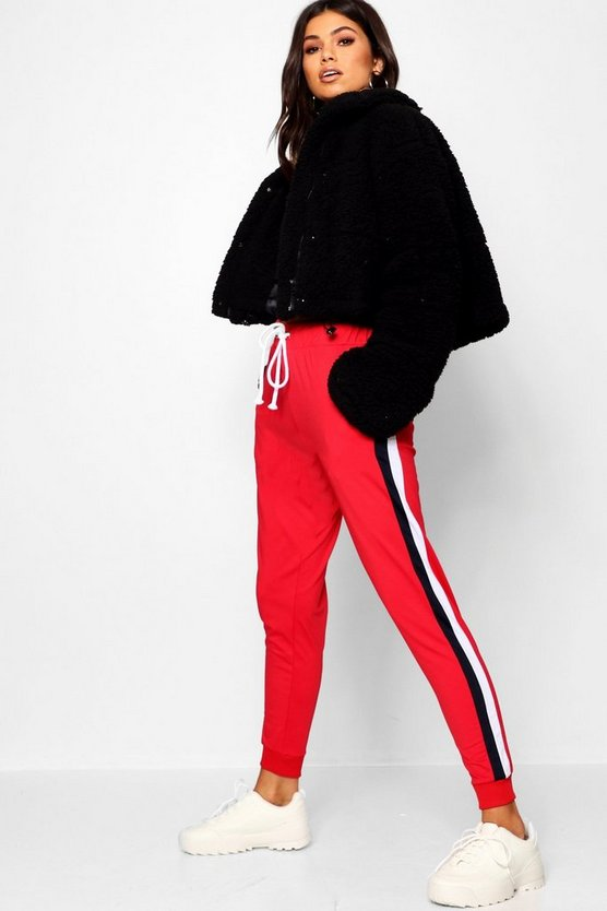 Tricot Panelled Jogger