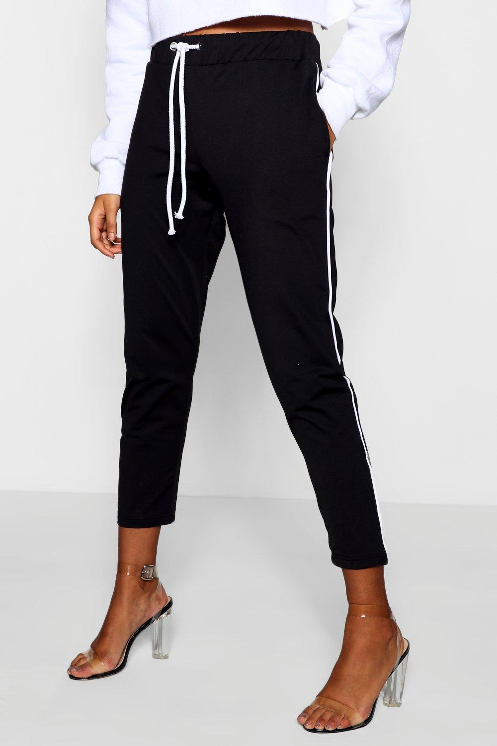 Tricot Piped Piped black Tricot black Tricot Jogger Piped Jogger qwC7vS