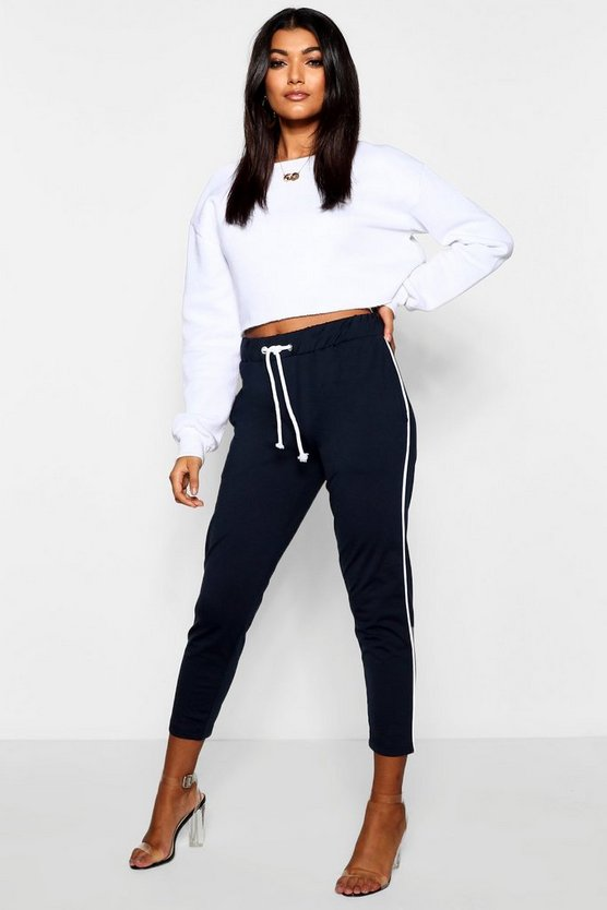 Tricot Piped Jogger