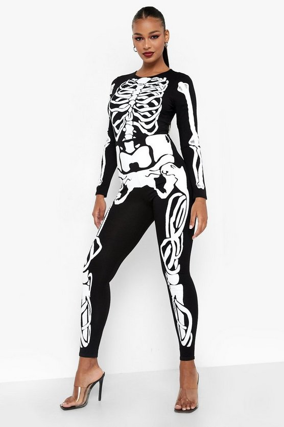 Halloween Skeleton Jumpsuit