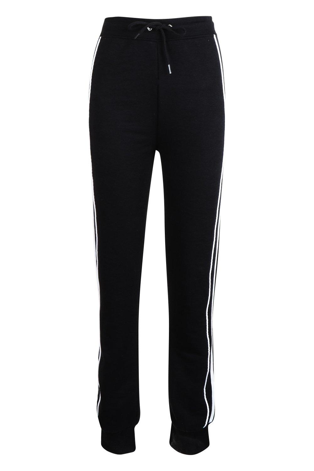 Stripe black Sweat Stripe Jogger Side Jogger Side Sweat Ix0xBqTO
