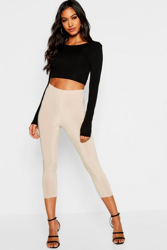 Slinky Cropped Leggings