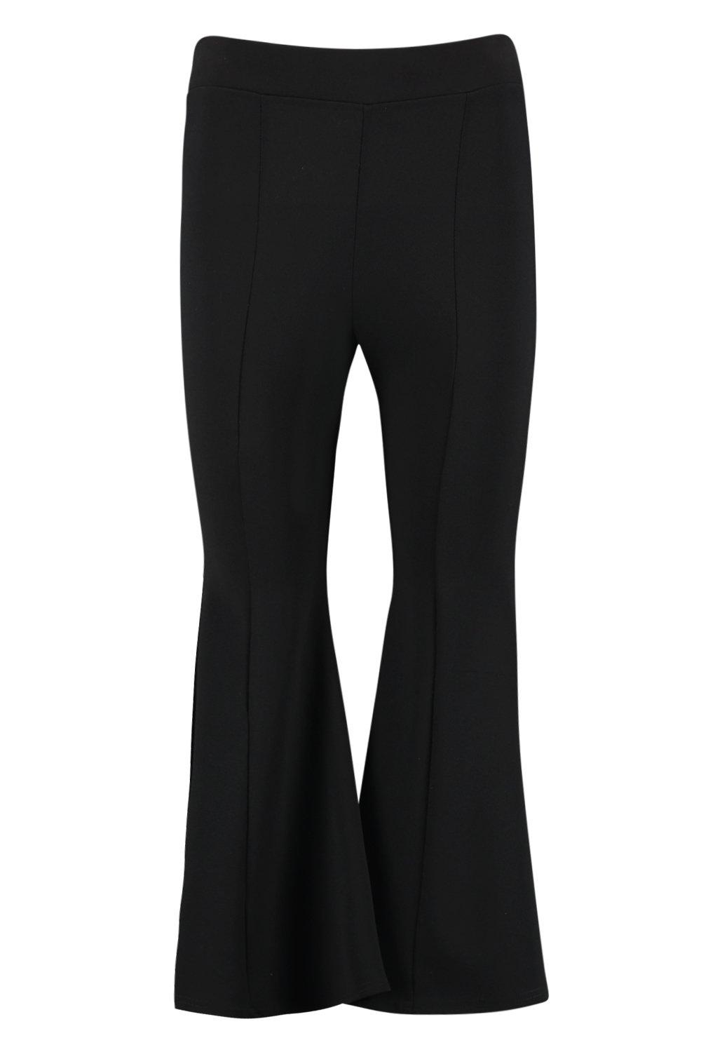 Flare Cropped black Cropped Grazer Flare Ankle zwUSgq