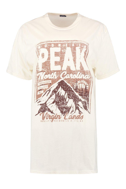 ecru T Oversized Carolina Shirt North APqfYIwW