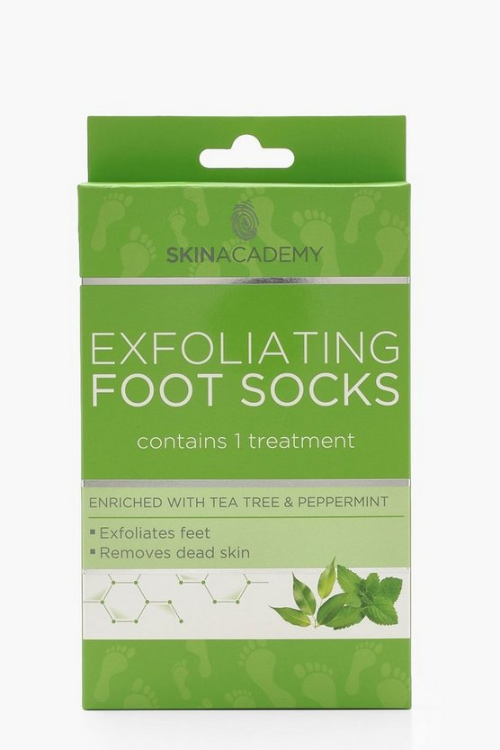 Tea Tree & Peppermint Exfoliating Foot Socks