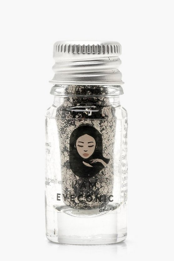 Gun metal Eyeconic Bad B Glitter Pot