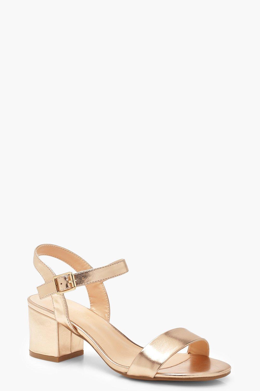 Low 2 Part Block Heels