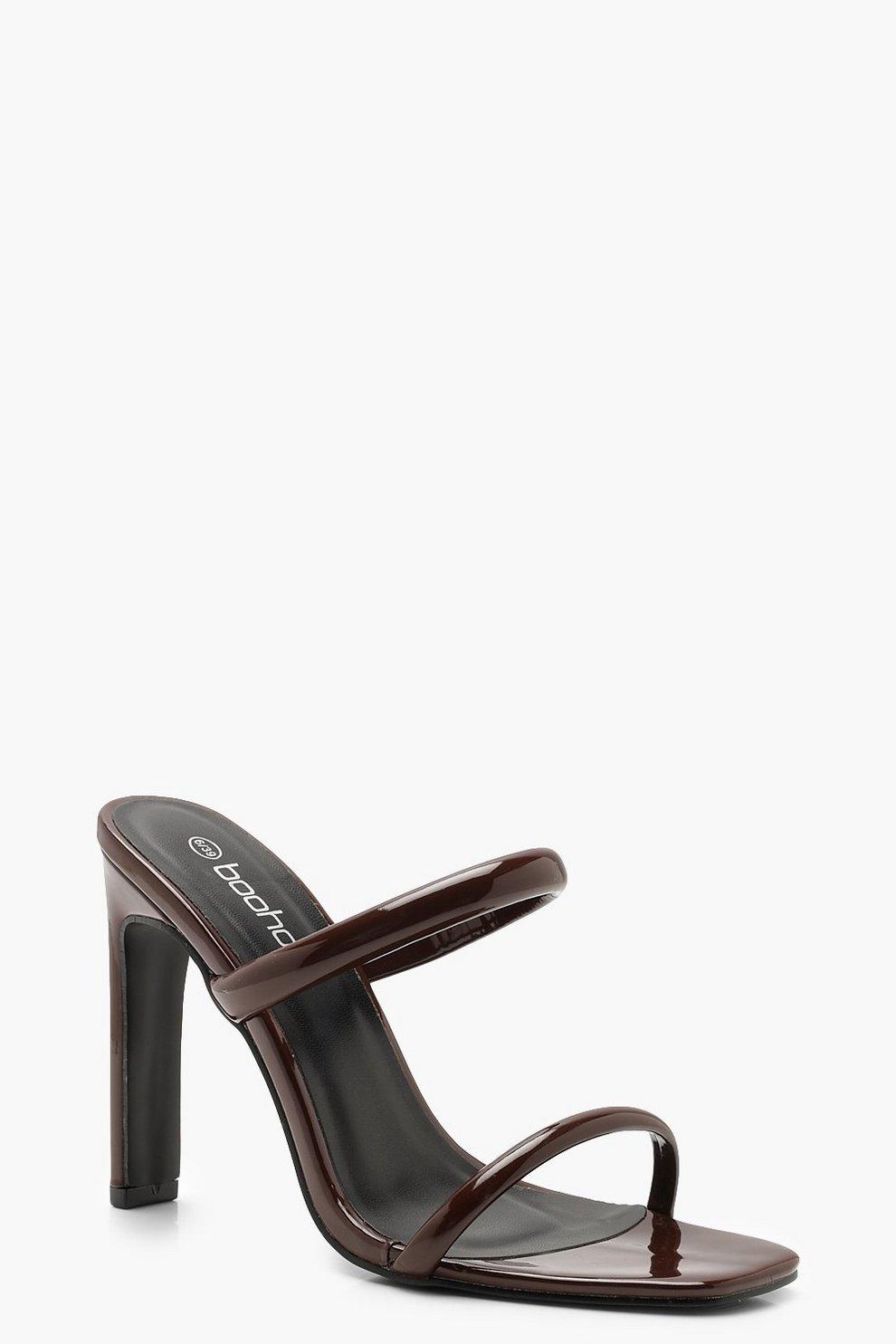 ebfabc0ed4e2 Double Strap Mule Heels