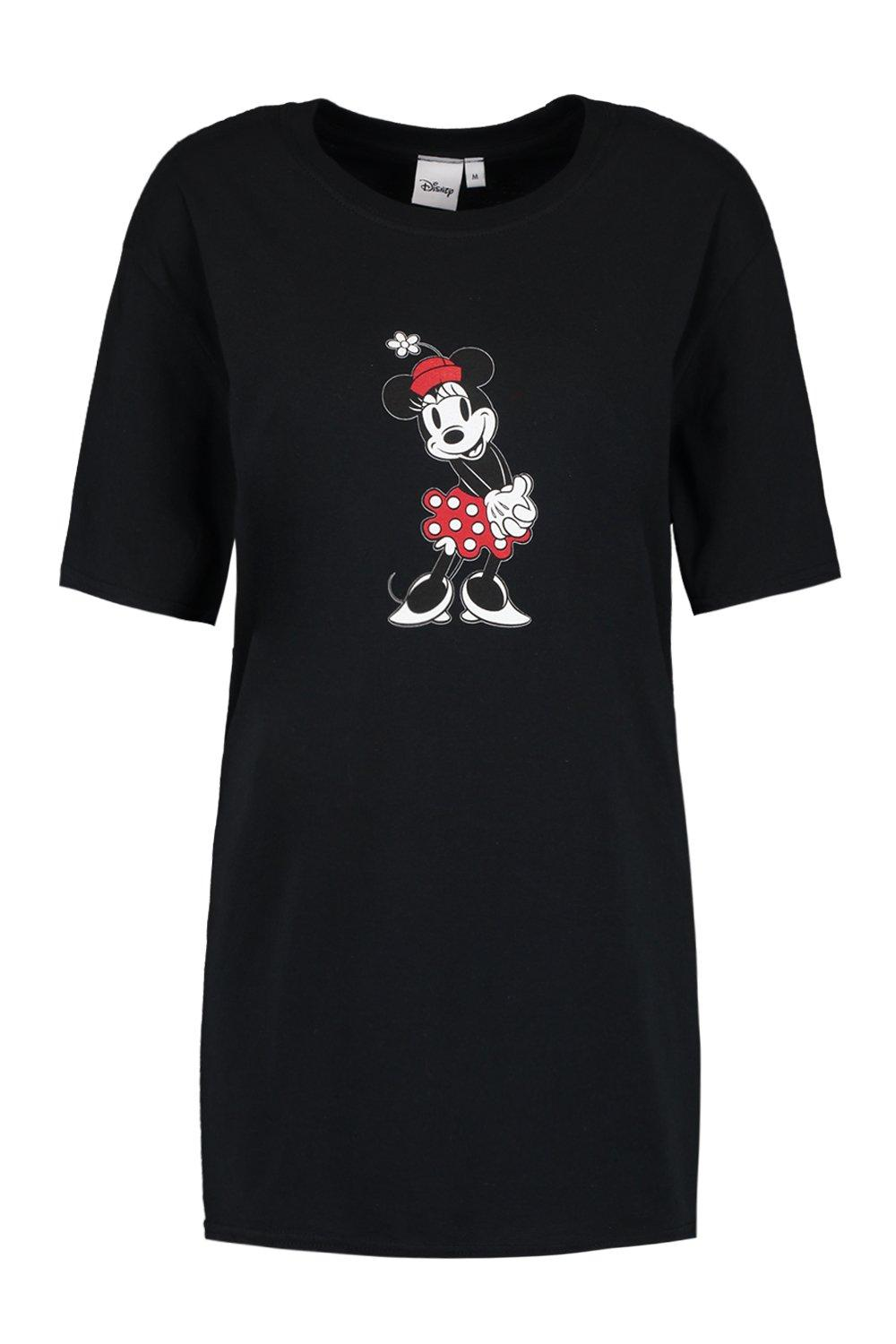 Oversized Graphic Minnie T Shirt black Disney BgFwqanWx
