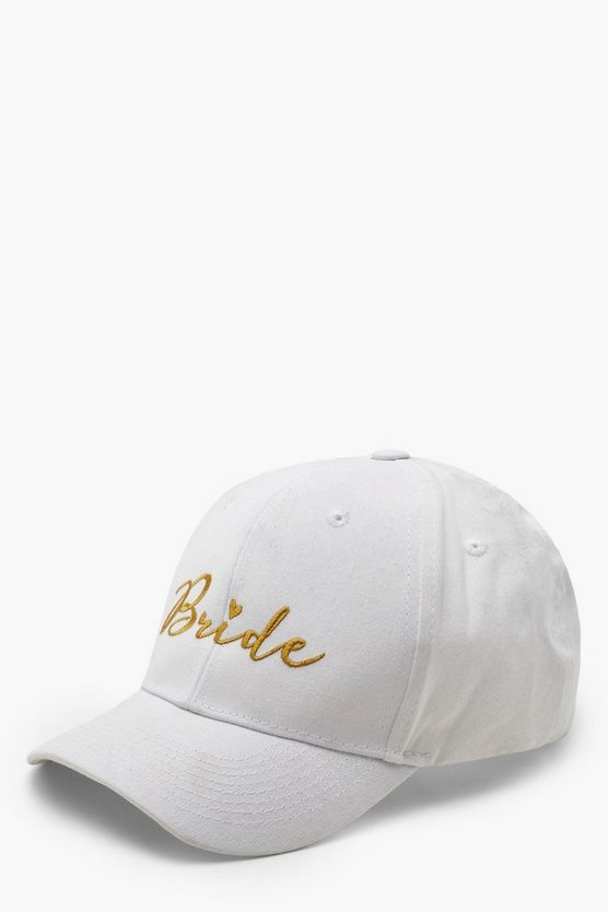 Bride Slogan Embroidered Cap