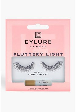 Eylure Texture False Lashes - 117, Black
