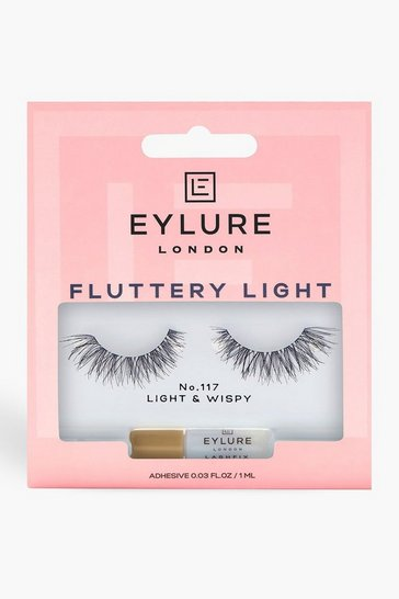 Womens Black Eylure Texture False Lashes - 117
