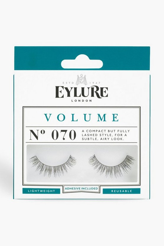 Eylure Volume False Lashes - 070, Black, DAMEN