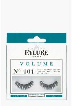 Womens Black Eylure Volume False Lashes - 101