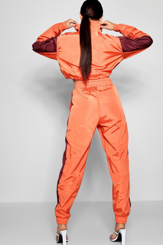 Jogger Shell Stripe peach Suit Side xFzYawZTqx