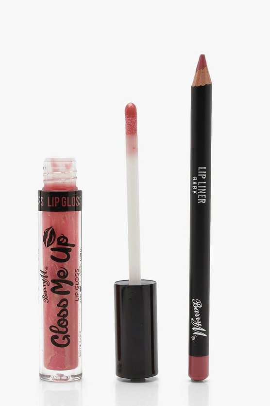 Barry M Gloss Me Up Lip Kit - Baby