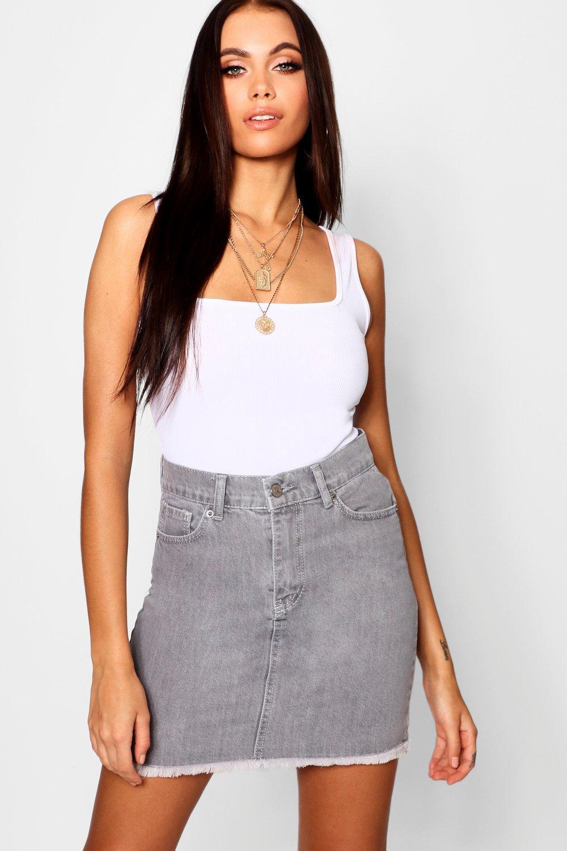 5 Pocket Denim Skirt