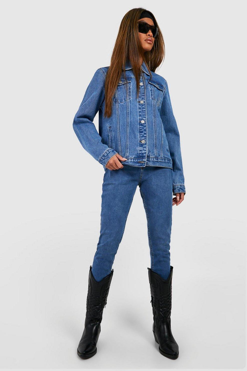 feb30a5b058 Butt Shaper Mid Rise Skinny Jeans