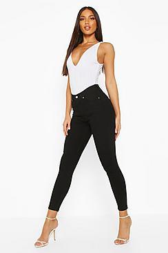 Butt Shaper Mid Rise Skinny Jean