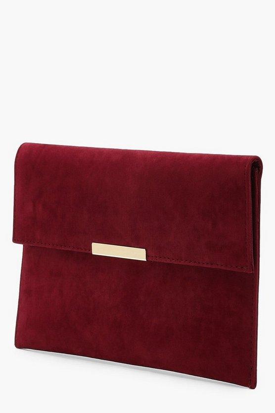Envelope & Bar Clutch Bag