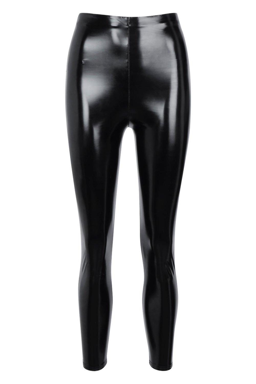 High Vinyl Waist black High Vinyl Leggings zTqx8vZ