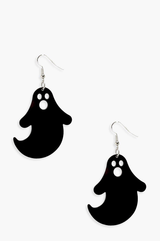 Boohoo-Womens-Halloween-Ghost-Earrings