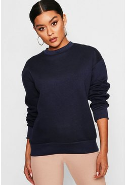 Navy Oversized Sweatshirt