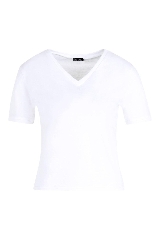 con básica ribete blanco básica Camiseta ribete básica con Camiseta blanco Camiseta blanco ribete con nxTXSwFq