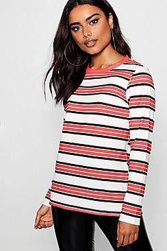stripe ringer t-shirt