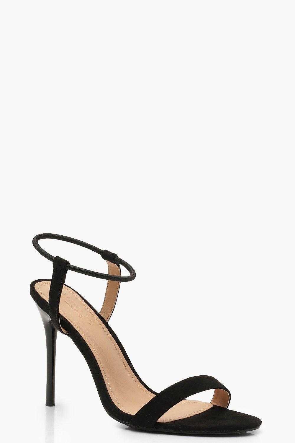 Halo Ankle Strap 2 Part Heels