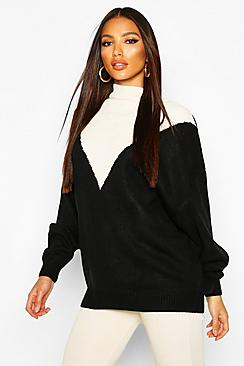 Oversized Boyfriend Balloon Sleeve Sweater