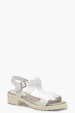 T Bar Cleated Sandals