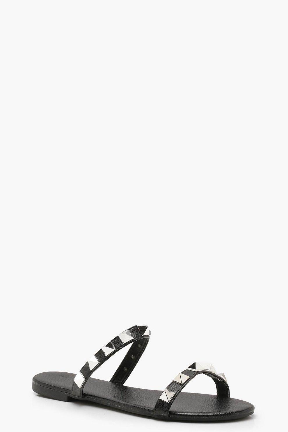 81602935b Studded Double Band Sliders