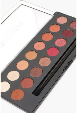 Womens Brown Technic Pro Finish Eyeshadow