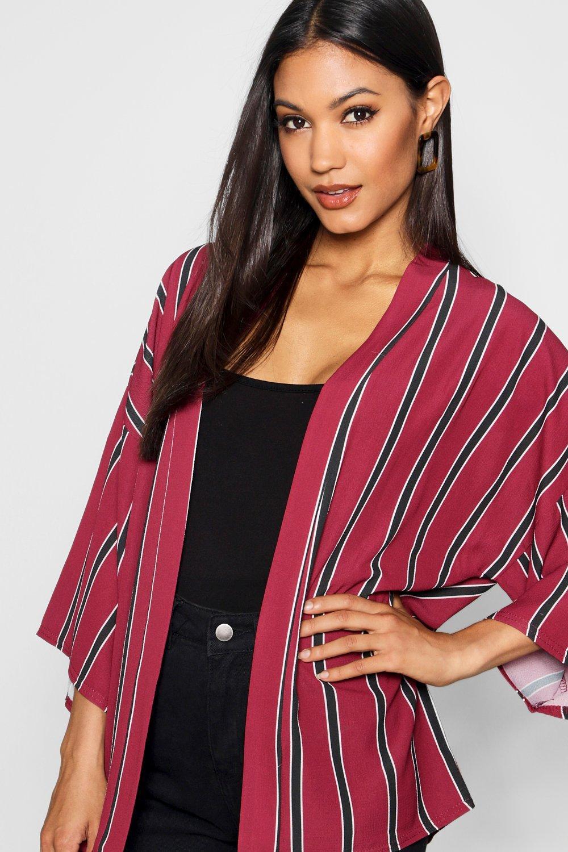 Stripe Kimono Oversized Stripe Oversized mustard gYxwZ5qFq