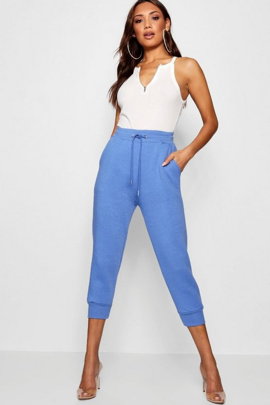 Cropped Basic Sweat Joggers