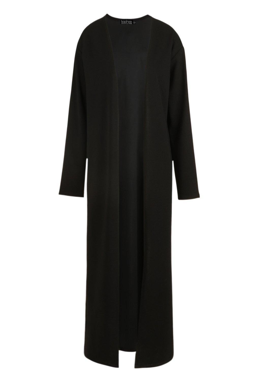 Maxi black Long Sleeve Maxi Kimono Long rSrZ8nq