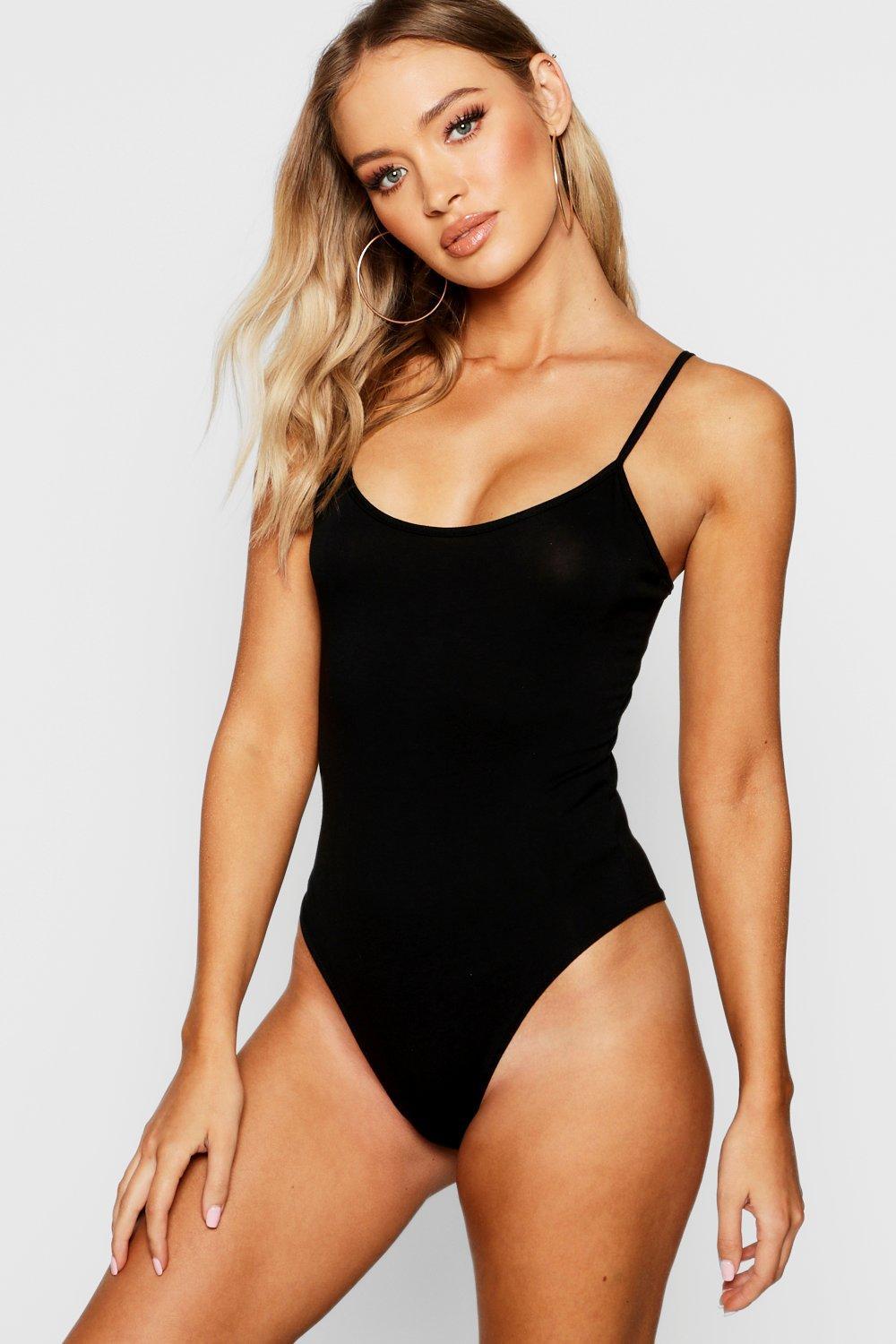 Body negro básico de básico Body punto RqFgTU