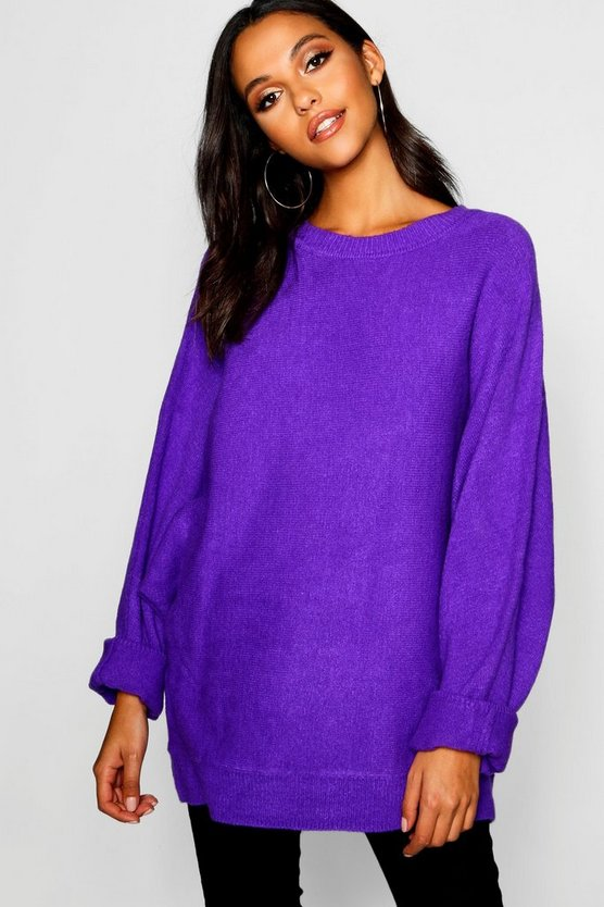 Premium Oversized Batwing Knitted Jumper
