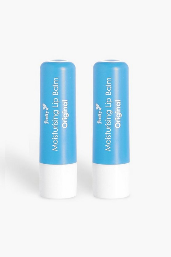 Blue Pretty Original 2 Pck Moisturising Lip Balms