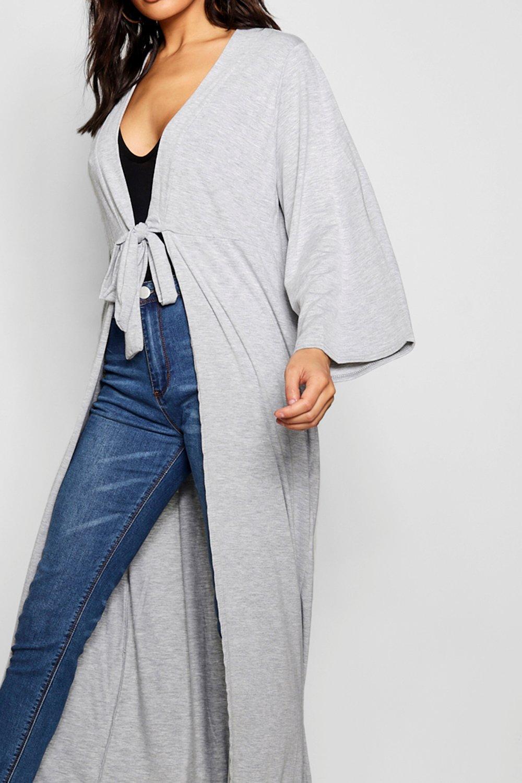 por Kimono Kimono por negro atado negro Kimono atado delante atado por delante BtnwxSq5A