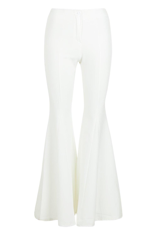 Pantalones acampanados Pantalones muy blanco muy qZp7zdxWw
