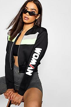 Woman Bomber Jacket