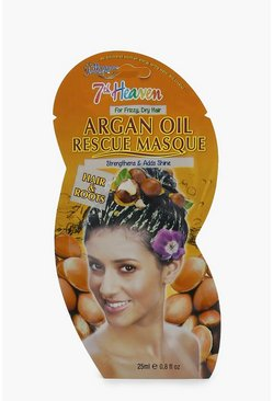 Argan Oil Strength Hair Rescue Mask, Clear, Donna